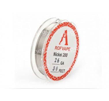 Проволка Rofvape Nikel 200, 26 GA 30 Feet, 1м