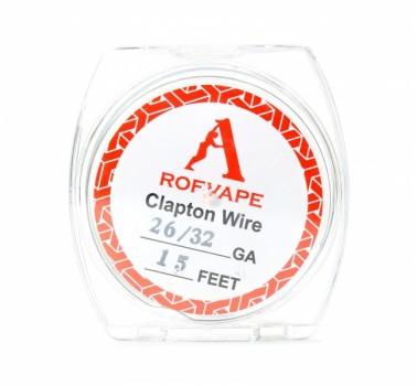 Проволка Rofvape Clapton Wire, 26/30 GA 15 Feet, 1м