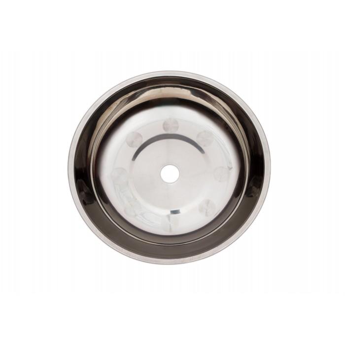 Тарелка металлическая с кругляшками 15.3*2.5(1,8)см - фото 1 - Kalyanchik.ua