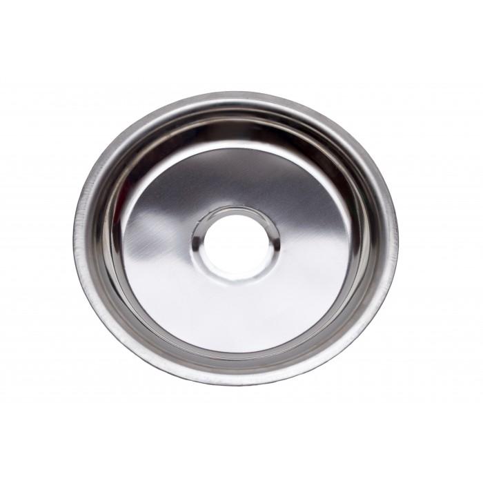Тарелка металлическая 20*2.5(4)см - фото 1 - Kalyanchik.ua