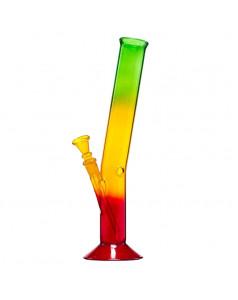 Бонг стеклянный Rasta Hangover H:33cm SG:14.5mm