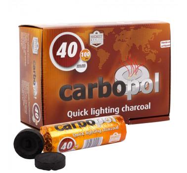 Уголь Carbopol 40mm для кальяна