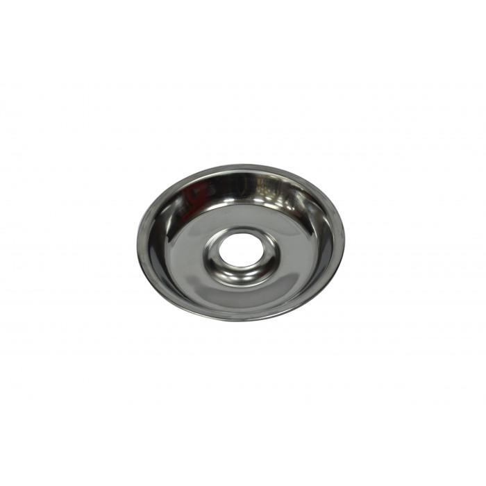 Тарелка для кальяна, металлическая, Phunnel 20х4х2см, серебряная