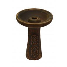 Чаша для кальяна с красной глины для Tangiers 11х8х1,5см