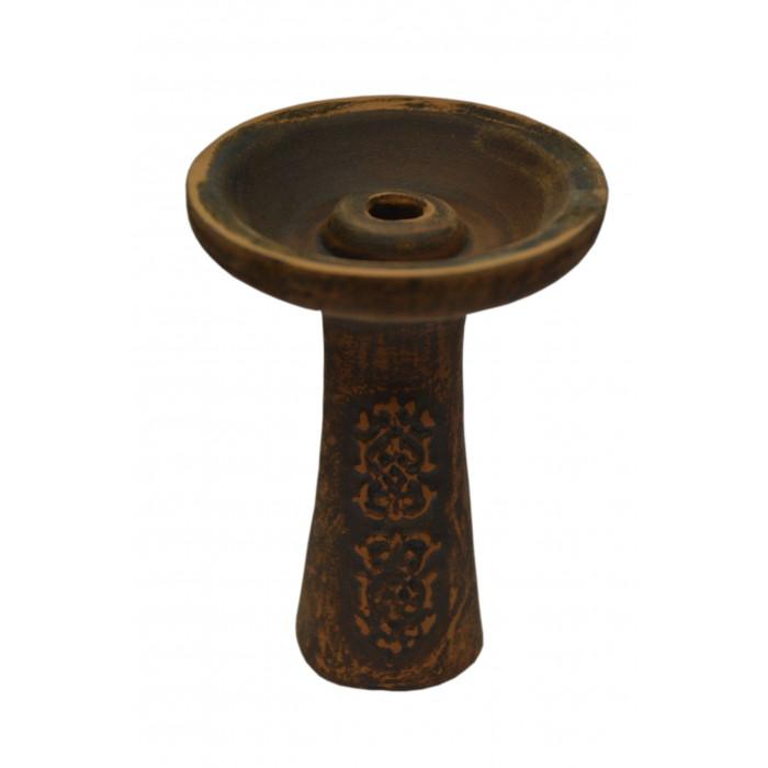 Чаша для кальяна с красной глины для Tangiers 11х8х1,5см - фото 1 - Kalyanchik.ua
