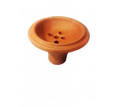 Чаша глиняная для кальяна 6х9х2см
