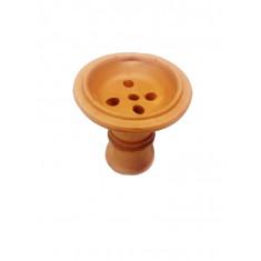Чаша глиняная для кальяна 7,5х7,5х1,5см