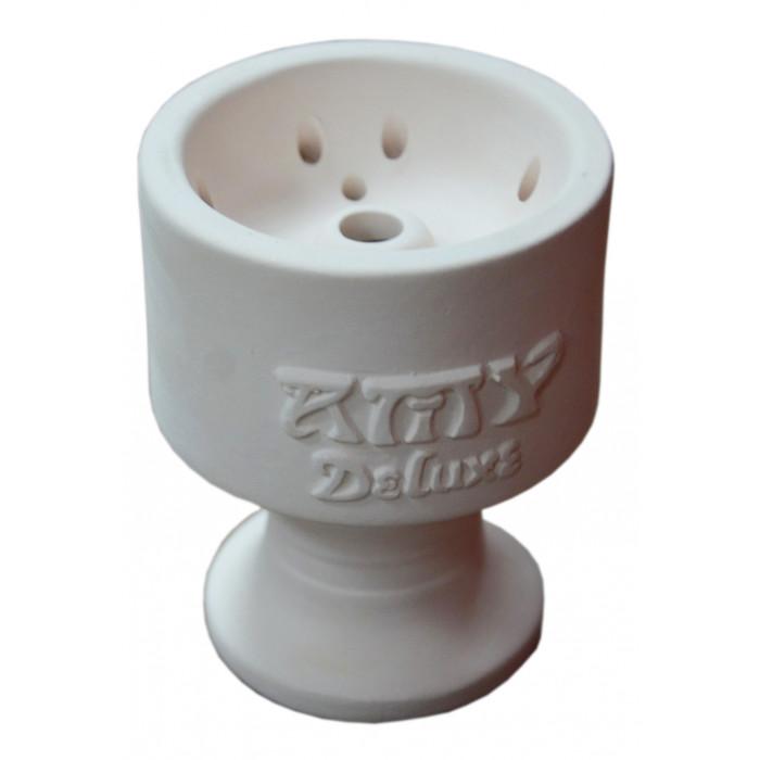 Чаша для кальяна с белой глины AMY 9.5х6,5х1,5см - фото 1 - Kalyanchik.ua