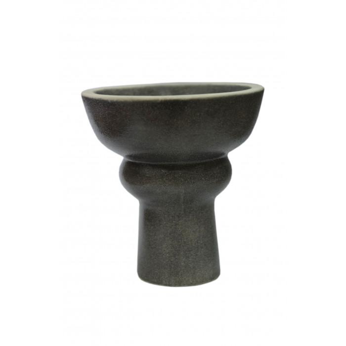 Чаша для кальяна с белой глины Phunel в глазури 7,5х7х2см - фото 2 - Kalyanchik.ua