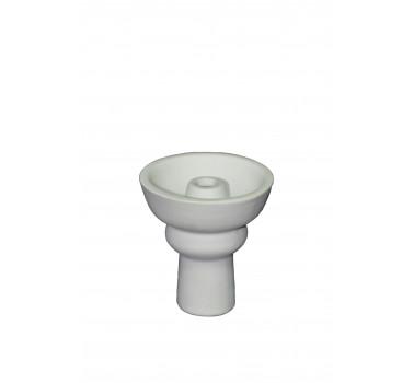 Чаша для кальяна с белой глины Phuunel (маленькая) 7,5х7х2см