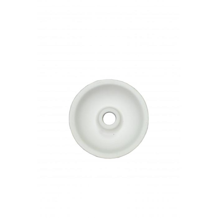 Чаша для кальяна с белой глины Phuunel (маленькая) 7,5х7х2см - фото 2 - Kalyanchik.ua