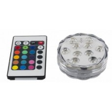 Подсветка круглая для кальяна LED AMY ( подставка), 10 фонариков