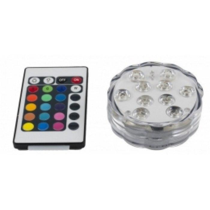 Подсветка круглая для кальяна LED AMY ( подставка), 10 фонариков - фото 1 - Kalyanchik.ua