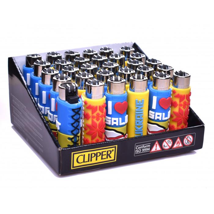 Зажигалка Clipper Silicone - фото 1 - Kalyanchik.ua