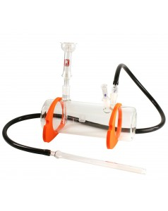 Кальян Kaya Tanktube Glass-Hookah with silicone feet and glass hose adapters
