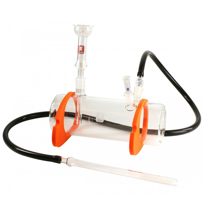 Кальян Kaya Tanktube Glass-Hookah with silicone feet and glass hose adapters - фото 1 - Kalyanchik.ua