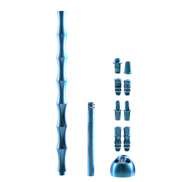 Кальян Kaya ELOX 635CE Clear XL KONIK Blue 4S