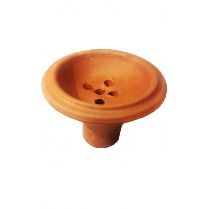 Чаша глиняная для кальяна 6х9х2см - фото 1 - Kalyanchik.ua