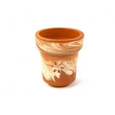 Чаша из красной глины Solaris Jupiter