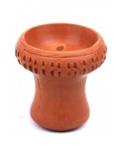 Чаша для кальяна с красной глины Paradise декоративная
