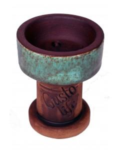 Чаша для кальяна Gusto Bowls Rook №10 Cyan