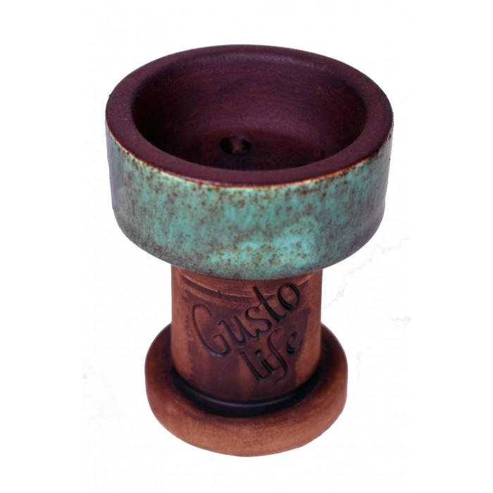 Чаша Gusto Bowls Rook №10 Cyan - фото 1 - Kalyanchik.ua