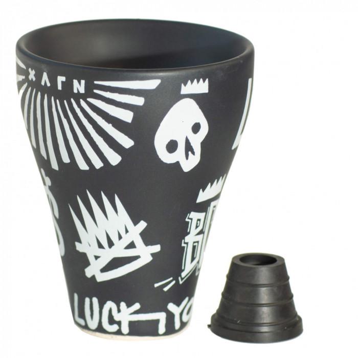 Чаша для кальяна OBLAKO Хулиган - фото 3 - Kalyanchik.ua