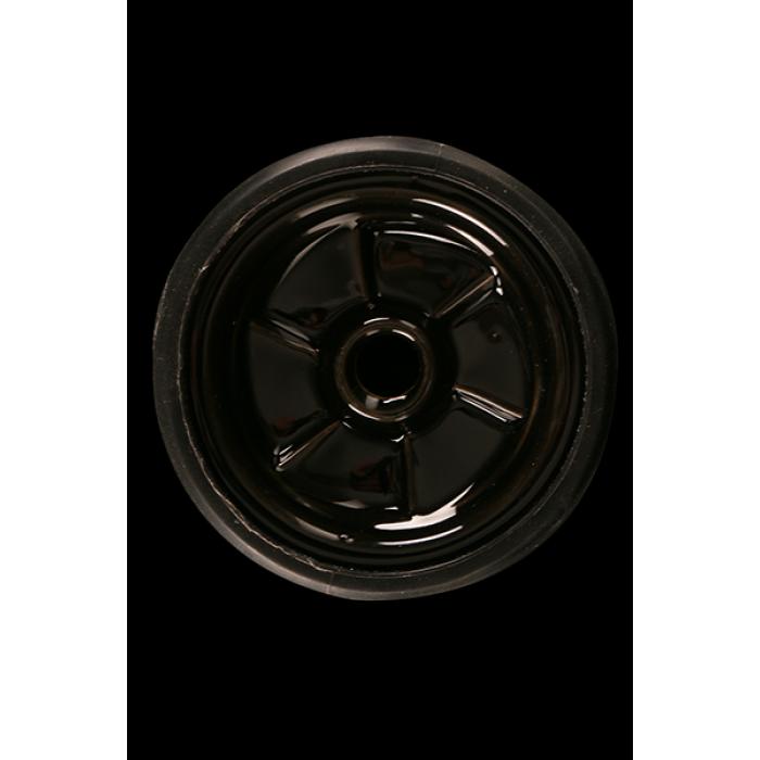 Чаша силиконовая + керамика Kaya Silscone Tobacco Bowl Lamella-Funnel inste Black (Черний) - фото 3 - Kalyanchik.ua