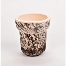 Чаша из белой глины Solaris Charon