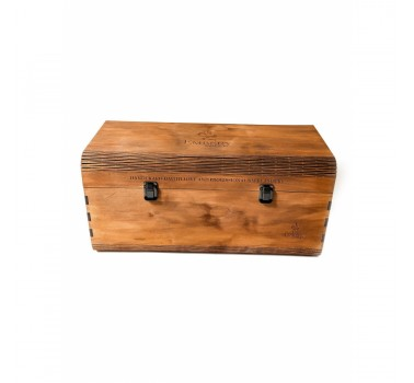 Деревянная коробка для кальяна