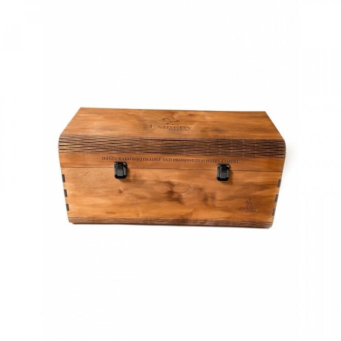 Деревянная коробка для кальяна - фото 1 - Kalyanchik.ua