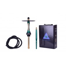 Шахта Alpha Hookah Model S Green Candy