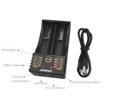 Зарядное устройство Liitokala Lii-202
