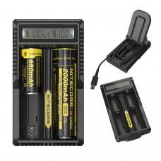Зарядное устройство Nitecore um20LCD