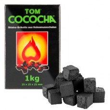 Уголь кокосовый Tom Cococha Green, 1кг