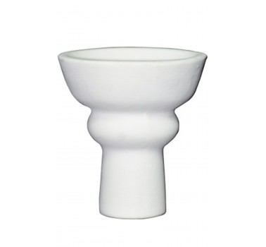 Чаша для кальяна с белой глины LEX классическая