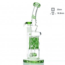 Бонг стеклянный Grace Glass OG Series | The Spinner H;33 Ø:5 SG:18.8mm
