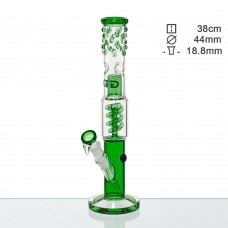 Бонг стеклянный Grace Glass OG Series Green H;38 Ø:44 SG:18.8mm