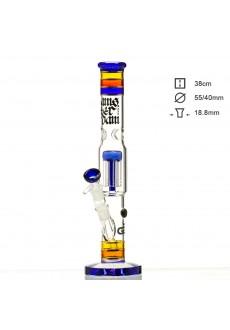 Бонг стеклянный Grace Glass HAMMER Series - Funky Twist VI H;38 Ø:44 SG:18.8mm
