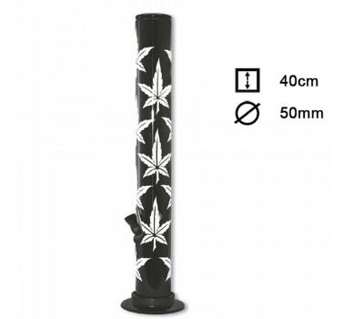 Бонг акриловый Acrylic Multi Leaf - H:40cm - ?:50mm