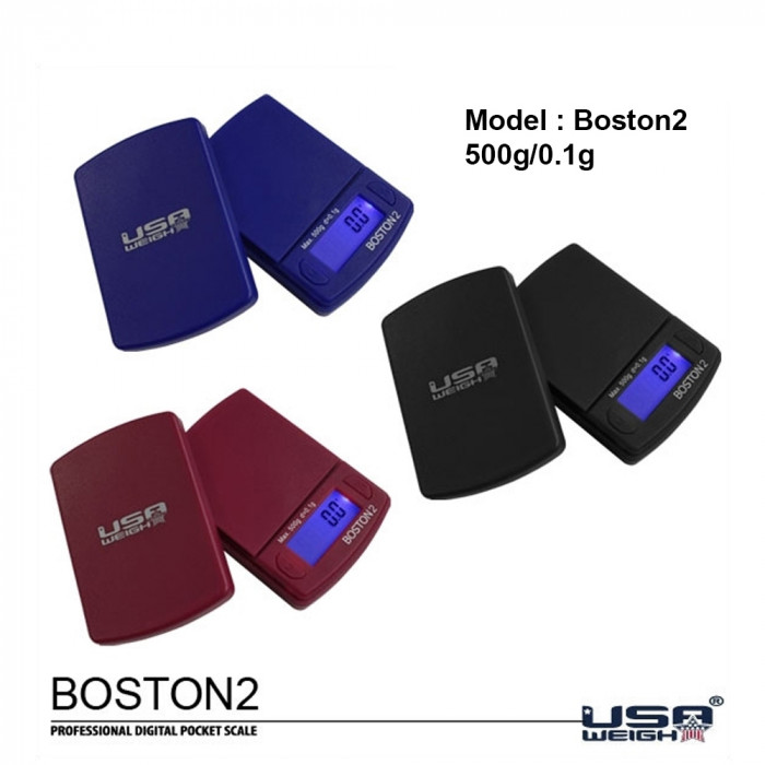 Весы Boston digital scale 500g - 0.1g - фото 1 - Kalyanchik.ua