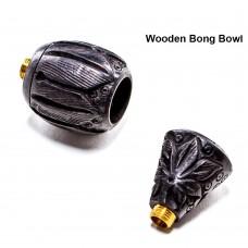 Колпак Wooden bong bowl black