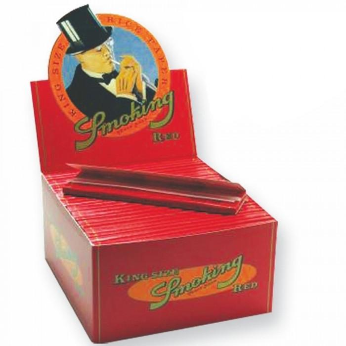 Бумага для самокруток Smoking Red King Size 33 - фото 1 - Kalyanchik.ua