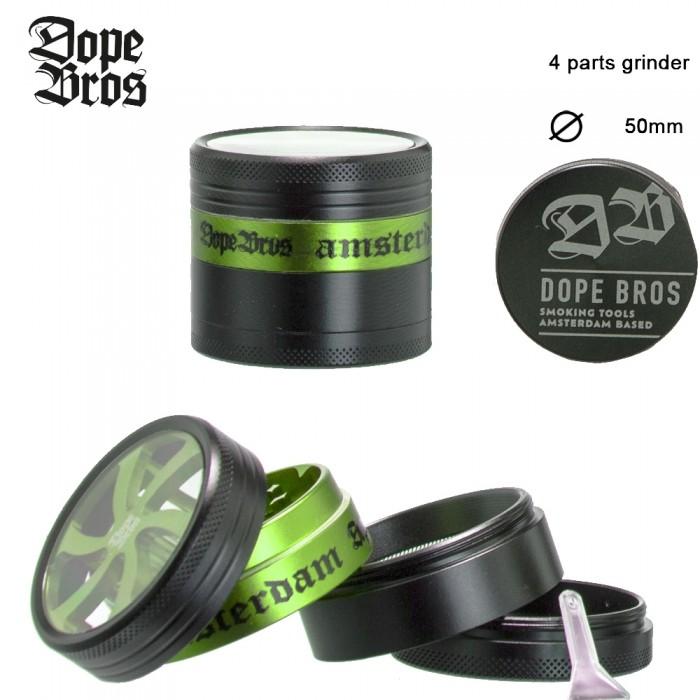 Гриндер Dope Bros AMSTER - 4part-?:50mm - фото 1 - Kalyanchik.ua