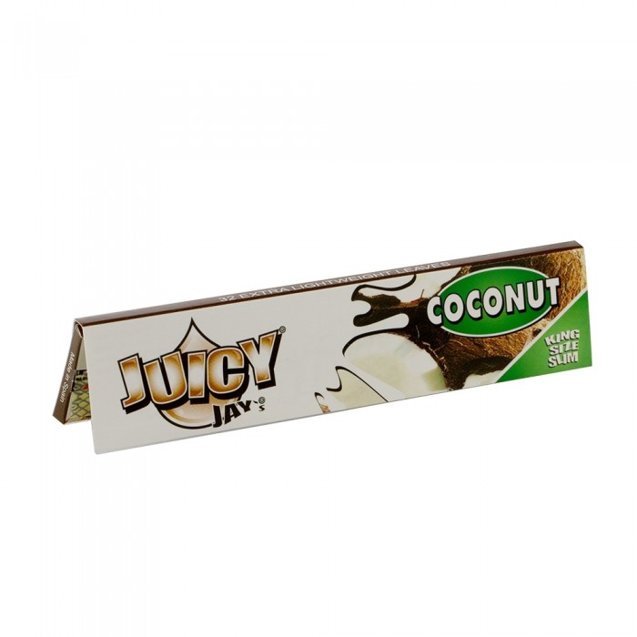 Бумага для самокруток King Size Juicy Jays Coconut - фото 2 - Kalyanchik.ua