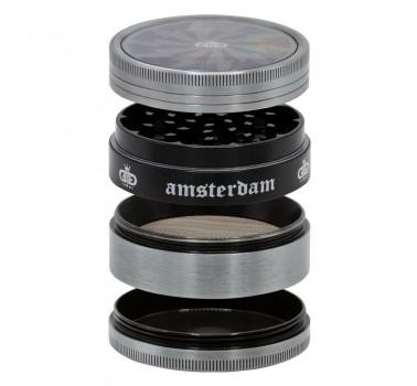 Гриндер металлический Amsterdam Lightning 4part d:63mm