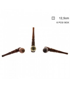 Трубка деревянная Amsterdam Indian Style, 12.5 см