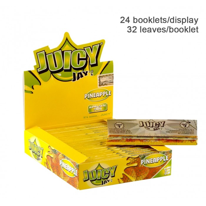 Бумага для самокруток King Size Juicy Jays Pineapple - фото 1 - Kalyanchik.ua