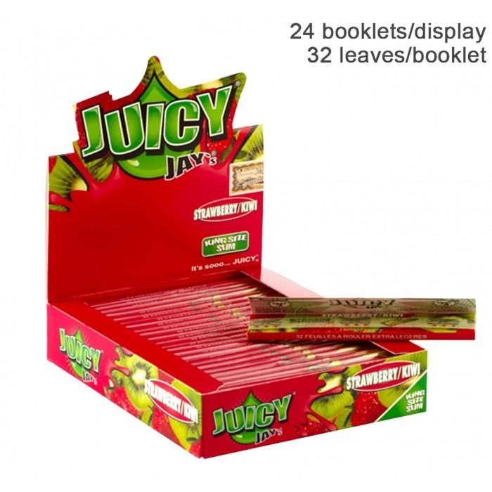 Бумага для самокруток King Size Juicy Jays Strawberry and Kiwi - фото 1 - Kalyanchik.ua