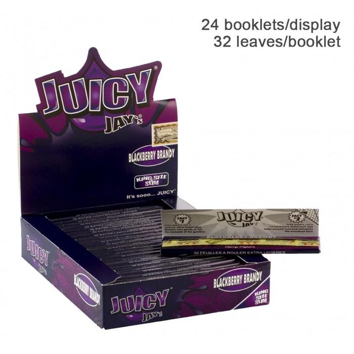 Бумага для самокруток King Size Juicy Jays Blackberry Brandy - фото 1 - Kalyanchik.ua